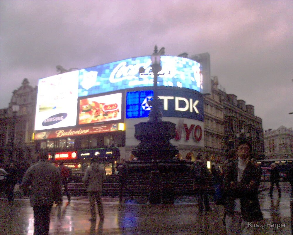 Piccadilly Circus by Kirsty Harper
