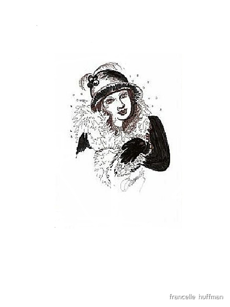 lady in hat and gloves  by franniesbest