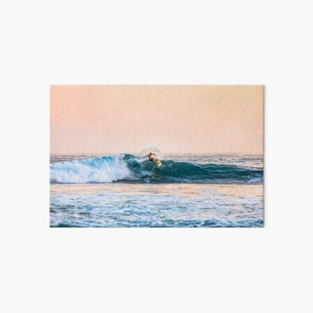 Surf Art Board Print