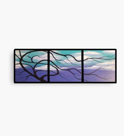 WINTER TREE TRIPTYCH Canvas Print