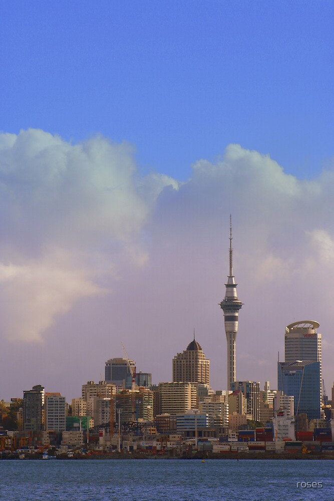 Auckland by roses