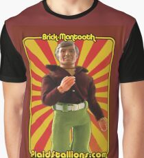PlaidStallions Brick Mantooth Doll Graphic T-Shirt