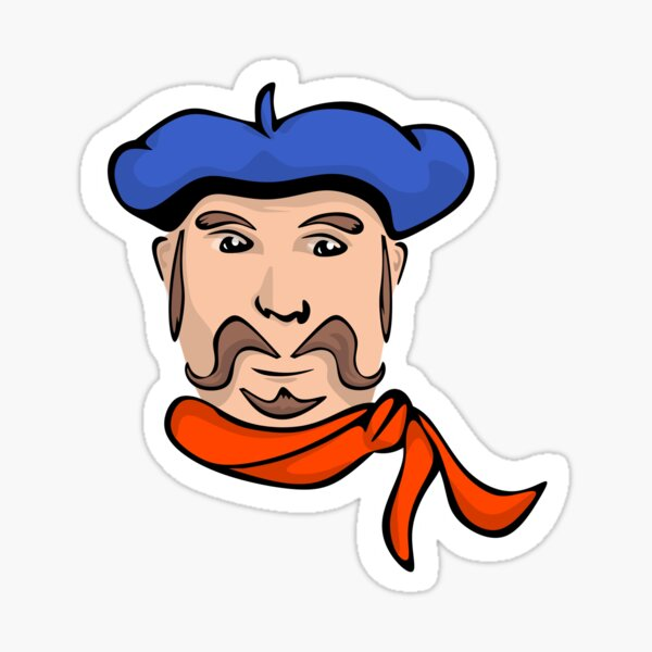 Pierre Mondeaux Sticker