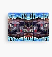 Arcade Abstract Canvas Print