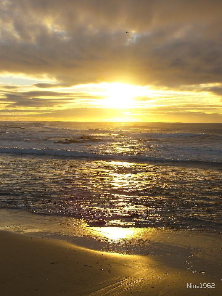Sunraise At Nobby's Beach by Nina1962