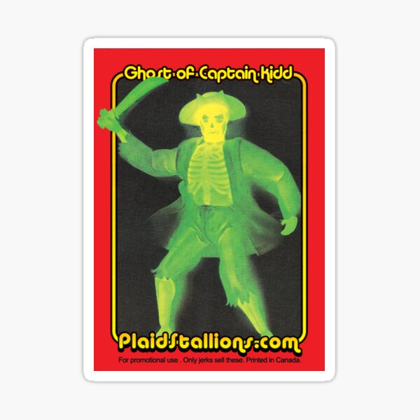 Fighting Furies Ghost of Captain Kidd Sticker