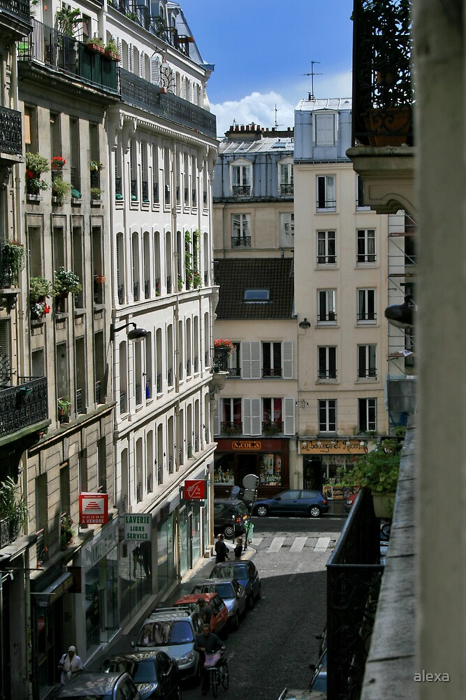 Paris Buildings by alexa
