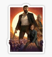 Logan Movie Sticker
