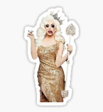 Queen Alaska Sticker Sticker