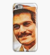 Omar Sharif, Vintage Actor iPhone Case/Skin