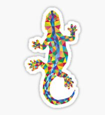 Vivid Barcelona City Lizard Sticker