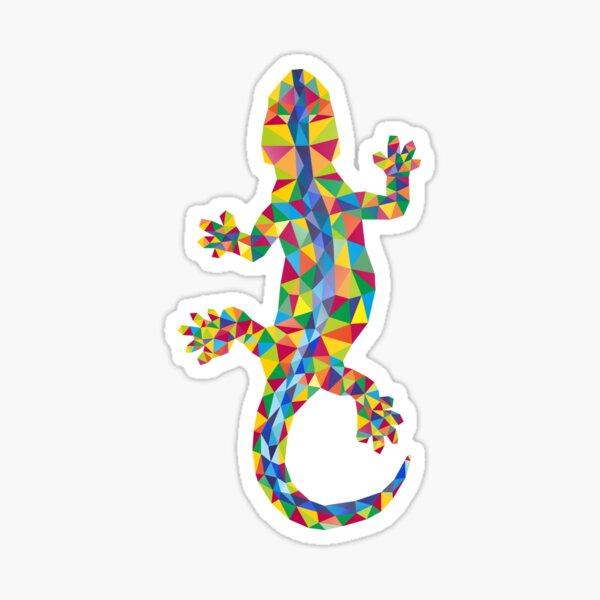 Vivid Barcelona City Lizard Sticker