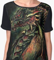 Dragonborn (Green Version) Women's Chiffon Top