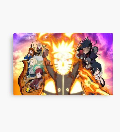 Most powerful ninja !! Canvas Print