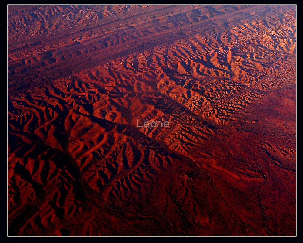 Central Australia at 38,000 ft by fabreplus