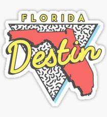 Destin Beach Florida Souvenirs Sticker