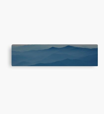 Blue Ridge Mountains II  Canvas Print