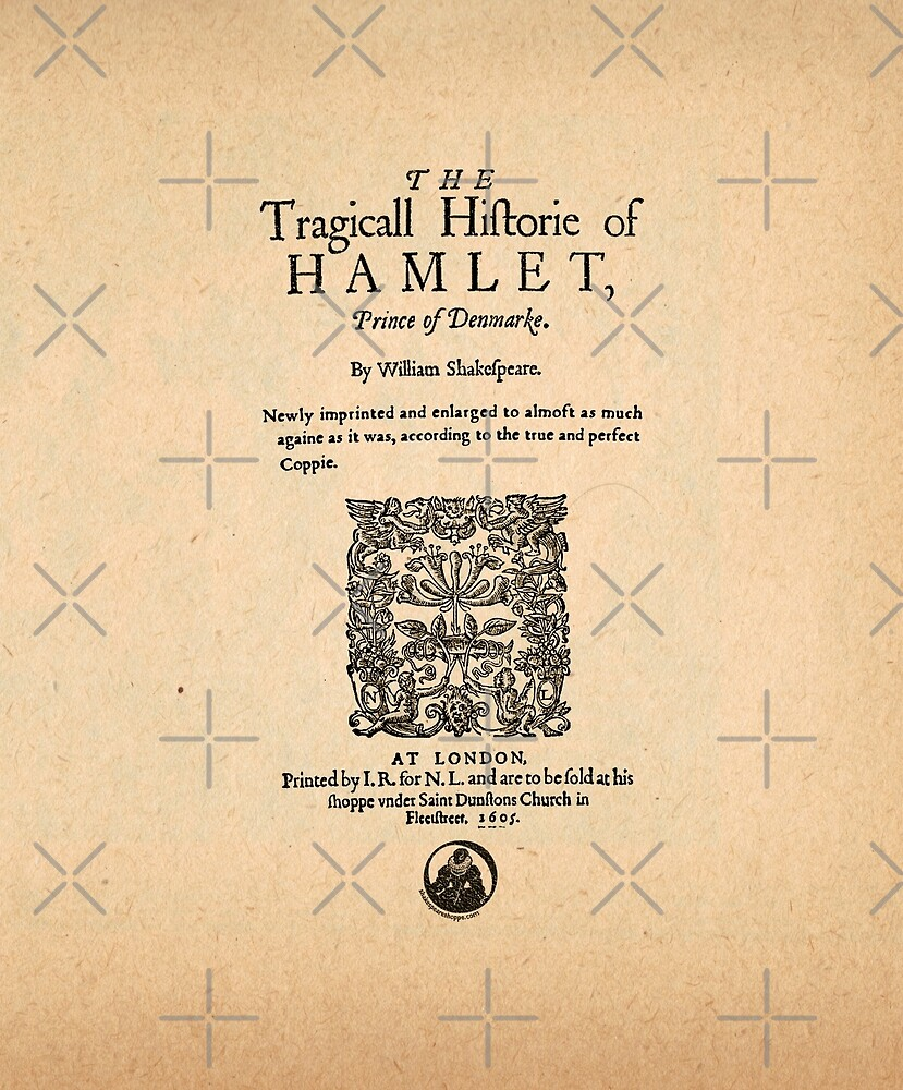Shakespeare's Hamlet Front Piece by Incognita Enterprises
