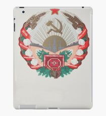 coat of arms of the Turkmenistan iPad Case/Skin