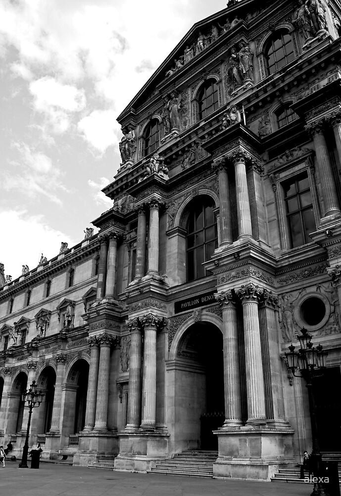 Louvre by alexa