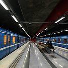 Stockholm Metro Duvbo Station by subwaymark