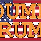 Dump Trump Protest Products (U.S. Flag) by Mark Podger