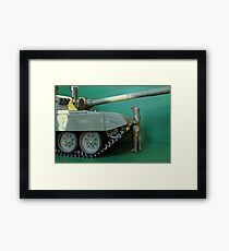 commander  panzer Framed Print
