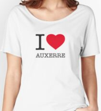 I ♥ AUXERRE Women's Relaxed Fit T-Shirt