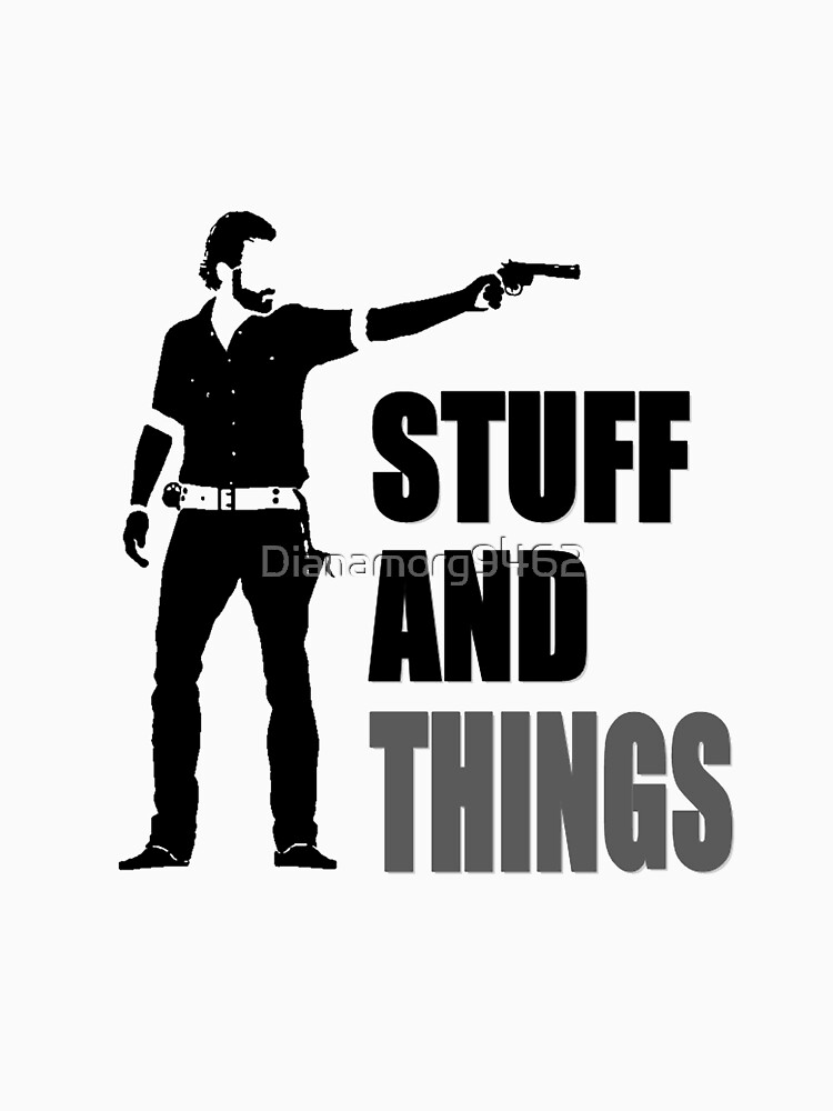 The Walking Dead - Stuff and Things | Unisex T-Shirt