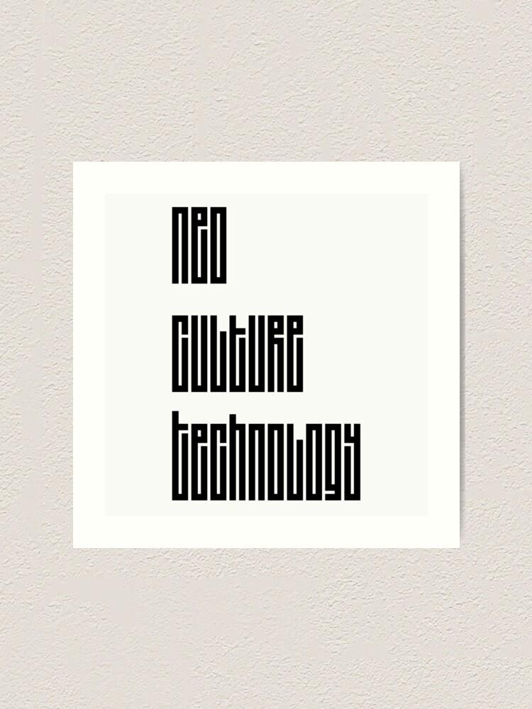 Alternative Ansicht von NCT Kunstdruck