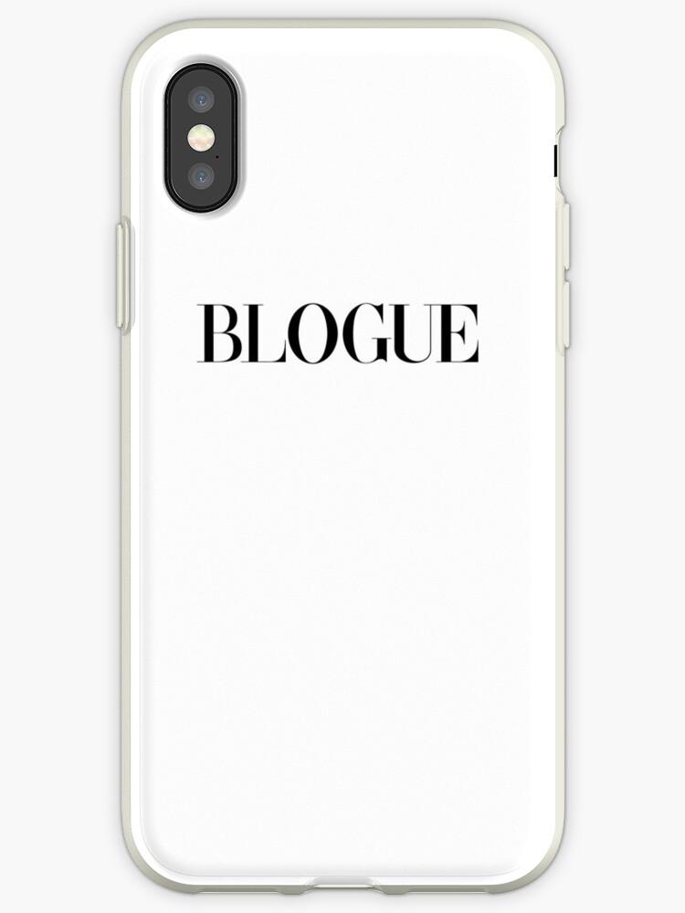 Coque Et Skin Adhésive Iphone Blogue Mode Blogueur Vogue Cadeau Fashionista Ado Tumblr Ironique Francais Francophone Francophile Paris