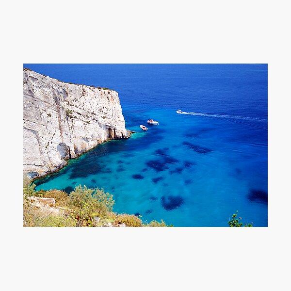 Greek Bay Photographic Print