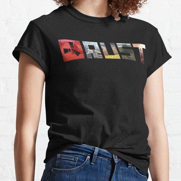 Logo du jeu de rouille T-shirt classique