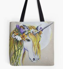 Spring Unicorn Tote Bag