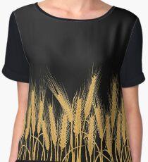 Ears of wheat Women's Chiffon Top