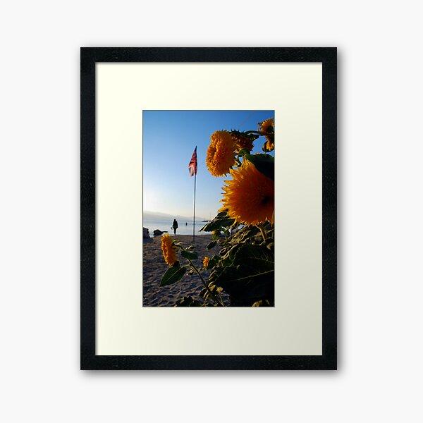 flagflower Framed Art Print