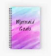 Mermaid Goals Spiral Notebook