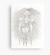 Smitey the mountain dwarf Canvas Print