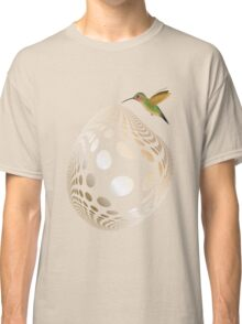 Hummingbird and Bubble Classic T-Shirt