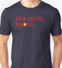 Sea Level Sucks Unisex T-Shirt