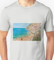 Vista su Positano Unisex T-Shirt