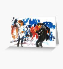 Pulp Fiction dance Greeting Card