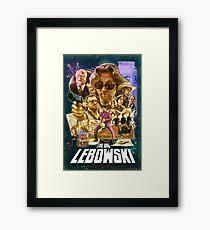Lebowski Star Wars Poster Framed Print