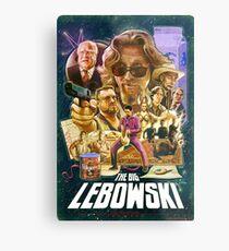 Lebowski Star Wars Poster Metal Print