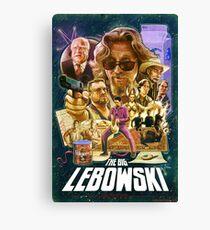 Lebowski Star Wars Poster Canvas Print