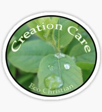 Eco Christian - Creation Care Sticker