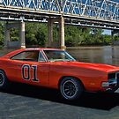 "1968 Dodge Charger RT ""General Lee"" Replica by TeeMack"