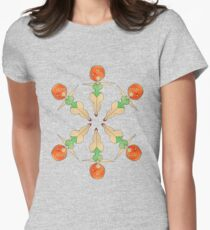 The Plump Sisters - Synchronized Natation Womens Fitted T-Shirt