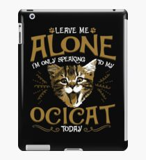Ocicat Cat Pet Animal iPad Case/Skin