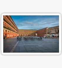 Plaza in Córdoba Sticker
